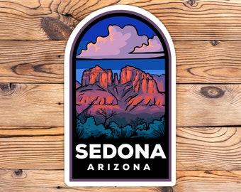 Sedona Arizona Badge Sticker