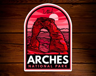 Arches National Park Delicate Arch Sticker