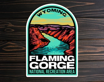 Flaming Gorge National Recreation Area Sticker