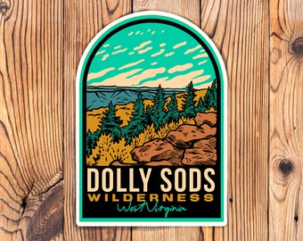 Dolly Sods Wilderness West Virginia Stickers