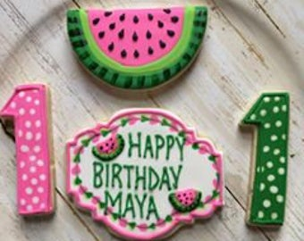 One in a Melon cookie set
