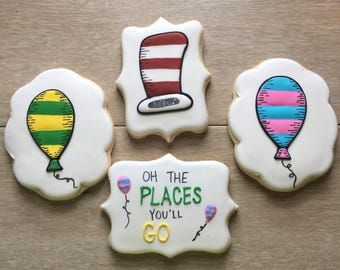 Dr. Suess cookie set