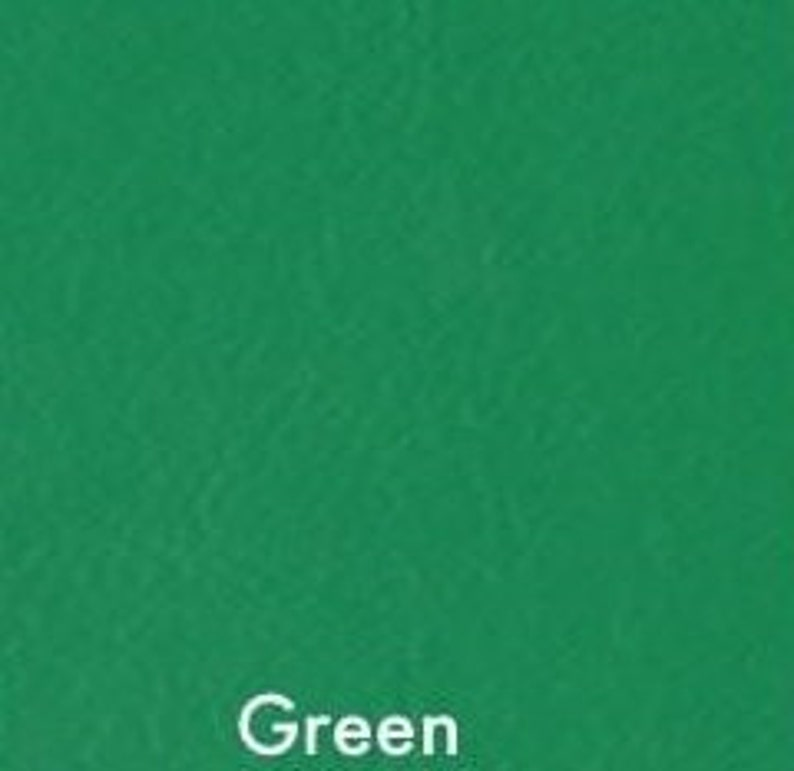 Embroidery Supply 9x12 Sheet Hair Bow Vinyl Vegan Leatherette Applique Faux Leather Emerald Green Marine Vinyl Embroidery Vinyl