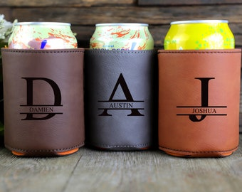 Engraved Can Coolers, Bachelor Party Gifts, Groomsmen Gifts, Groomsmen Proposals, Beer Cooler, Beer Can Holder, bottle holder, Birthday Gift