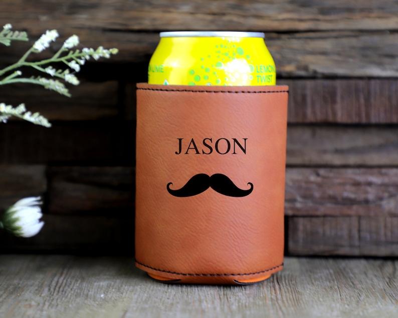 Groomsmen Proposals Beer Can Holder Beer Cooler bottle holder Bachelor Party Gifts Engraved Can Coolers Groomsmen Gifts Can Cooler