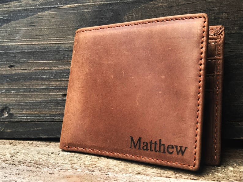 Personalized leather Wallet Personalized wallet personalized image 0