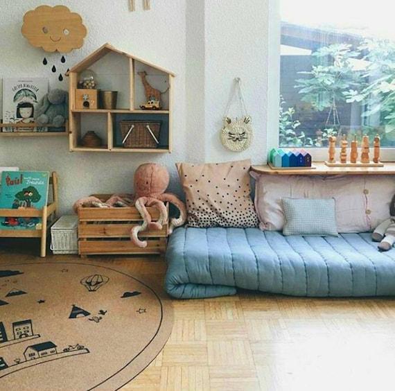 Runde Kinderzimmer Teppich Skandinavisches Design Teppiche   Etsy