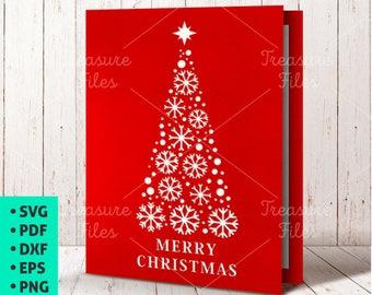 Happy New Year Card Svg Santa Card Svg Template New Year Etsy