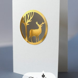 Deer Card TF0152 SVG,MTC,CAMEO,Scal,ScanNCUT,Cricut