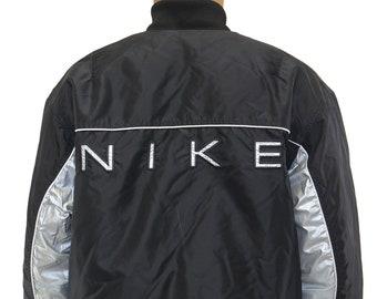nike bomber jacket etsy