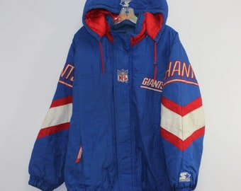 38cd55aaffe Vintage New York Giants Insulated Starter Jacket Size Large
