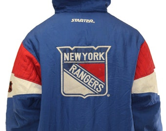 Vintage New York Rangers Starter Insulated Jacket Size Large 14a637279f