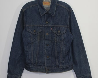 ef8048ea Vintage Levi's Strauss Denim Jean Jacket Size 44