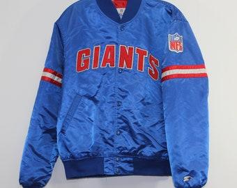Vintage New York Giants Satin Starter Jacket Size Large e814be52e