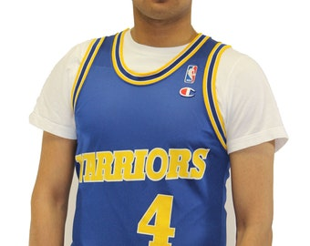 11d4a2a69b5 Vintage Chris Webber Golden State Warriors Champion Jersey Size 36 S