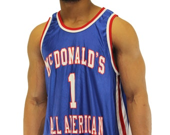3b1879f0f2a Vintage Tracy McGrady McDonalds All American Jersey Size XL