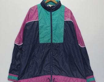 466c20e7035d Vintage Adidas Windbreaker Jacket Size XL