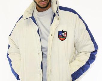 627e744e4 Vintage Polo Ralph Lauren Suicide Ski Down Jacket Size Large