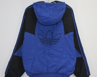 vintage adidas shell suit jacket