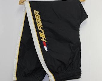 3a5c1df46 Vintage Tommy Hilfiger Athletics Wind Pants Size XL