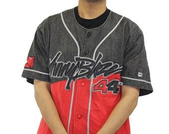 57ad4195a Vintage Johnny Blaze Baseball Jersey Size Large