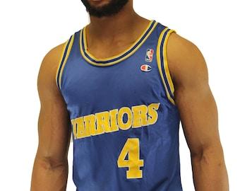 c9a707e5c42 Vintage Chris Webber Golden State Warriors Champion Jersey Size 44 L
