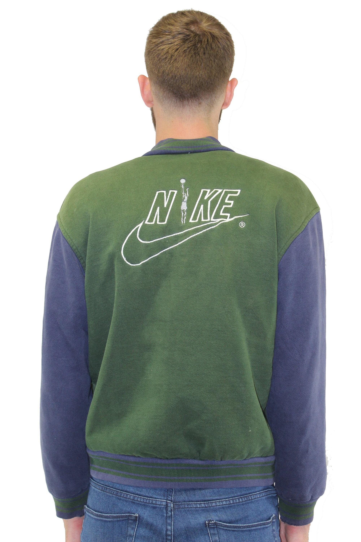 f5ef94ef02 Vintage Nike Varsity Jacket Size Large