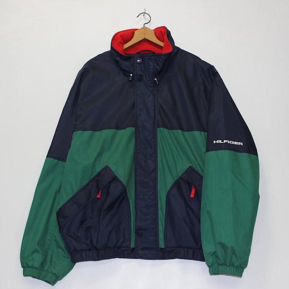 Vintage Tommy Hilfiger Fleece Lined Jacket Size XL