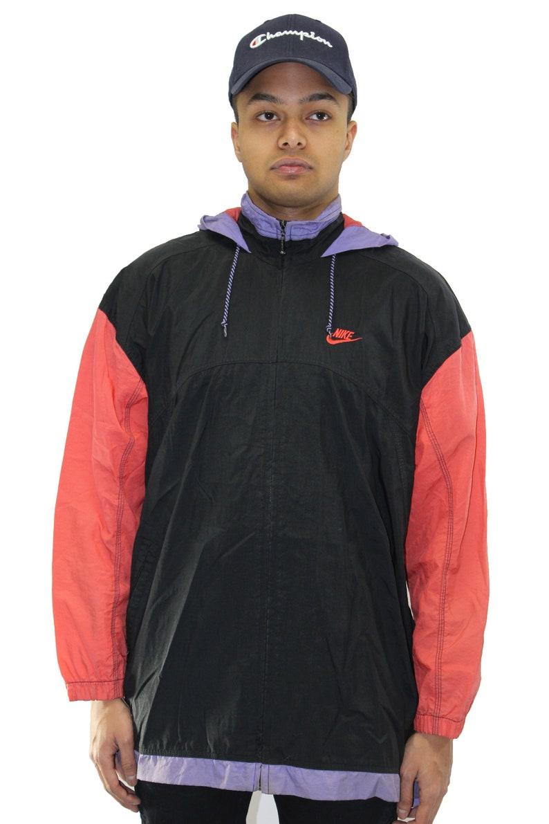 7e8370b1bb Vintage Nike Windbreaker Jacket Size Youth Large 14