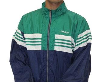 Vintage Adidas Windbreaker Jacket Size Large