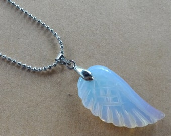 OPAL WING NECKLACE
