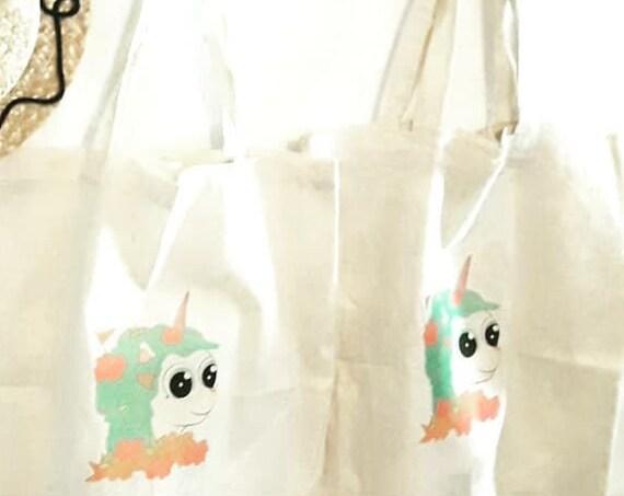 Cotton Tote Bag Unicorn