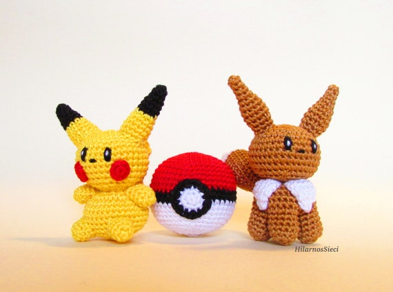 New listing up in my shop! Crochet Charmander pokemon set includes ... | 424x570