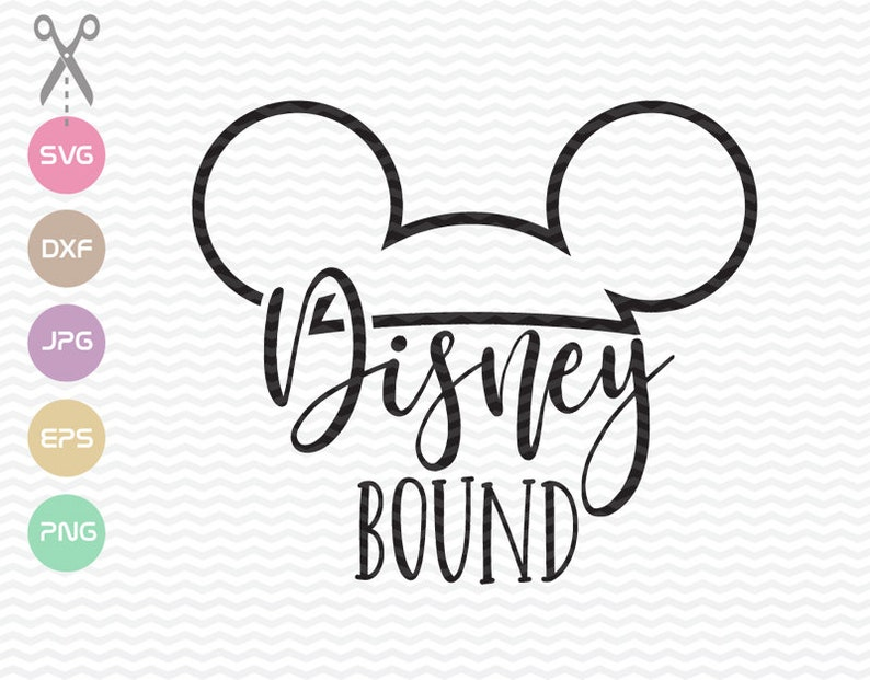 Disney Bound Svg Disney Family Disney Trip Vacation Clipart