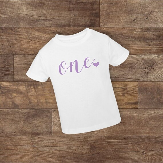 Birthday Toddler Shirt Boy Girl First Second