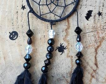 Handmade Halloween Dreamcatcher Mr Bat