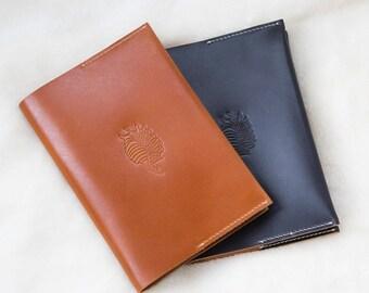 Buffalo Leather-Bound Listening Journal