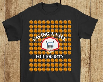 Teacher 100th Day of School Students Shirt Counting 100 Days