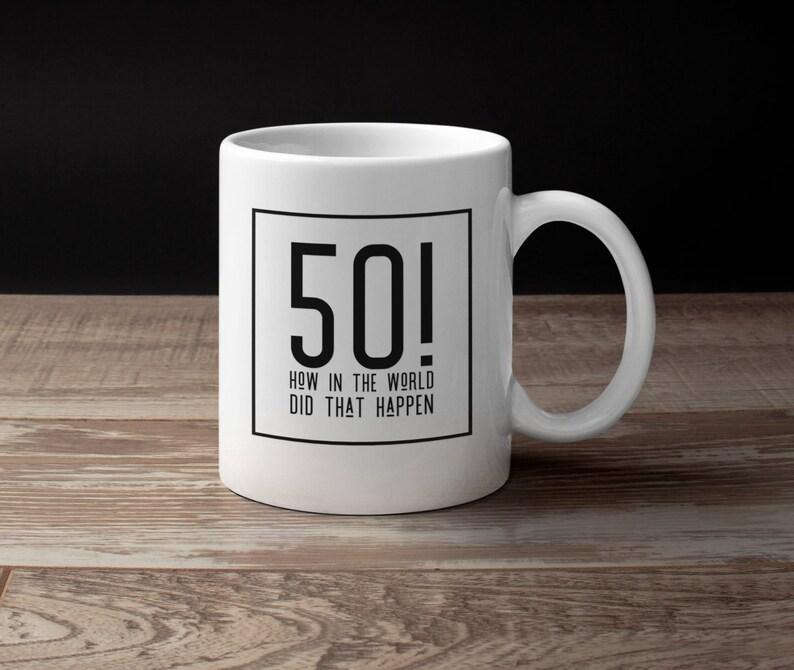 50th Birthday Gift For Women Men 50