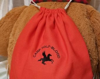 Camp Jupiter Camp Half-Blood Percy Jackson Cabins Drawstring Tote Bag Backpack
