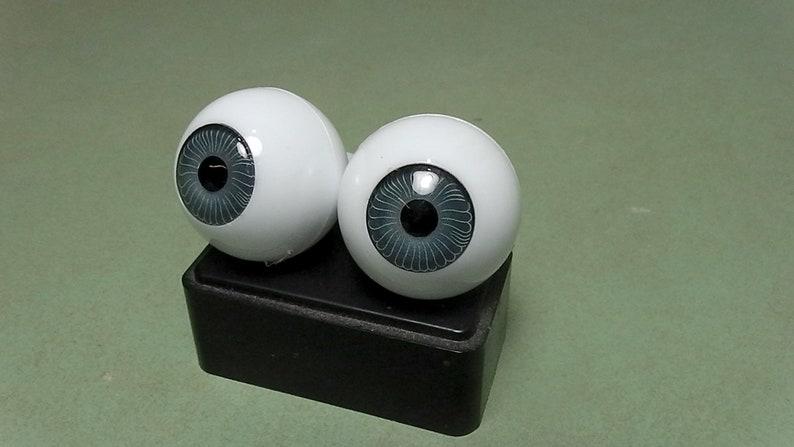 14mm Deep Blue Round Acrylic Eyes Reborn Baby Doll Making Supplies