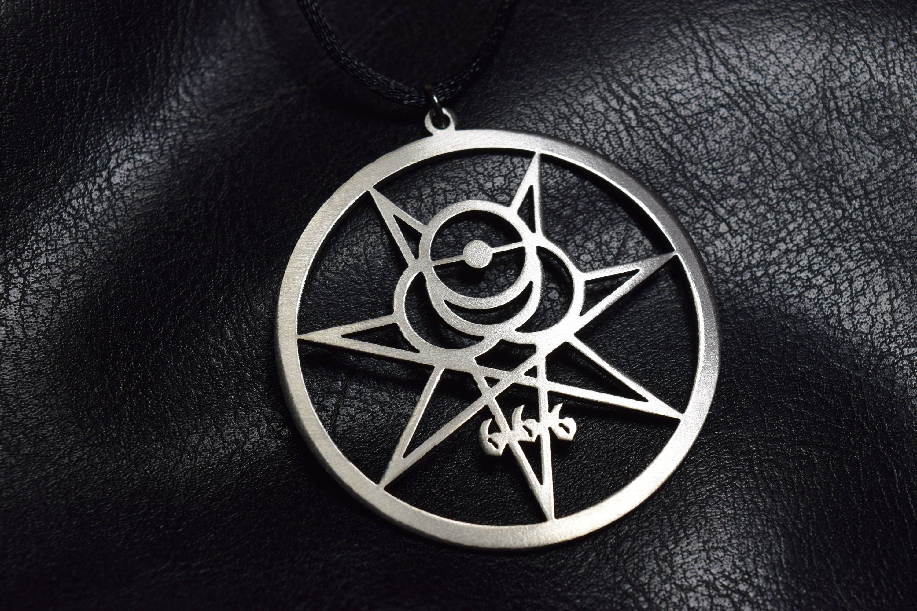 Crowley Secret Seal Thelema Sigil Illuminati Occult Symbol Etsy
