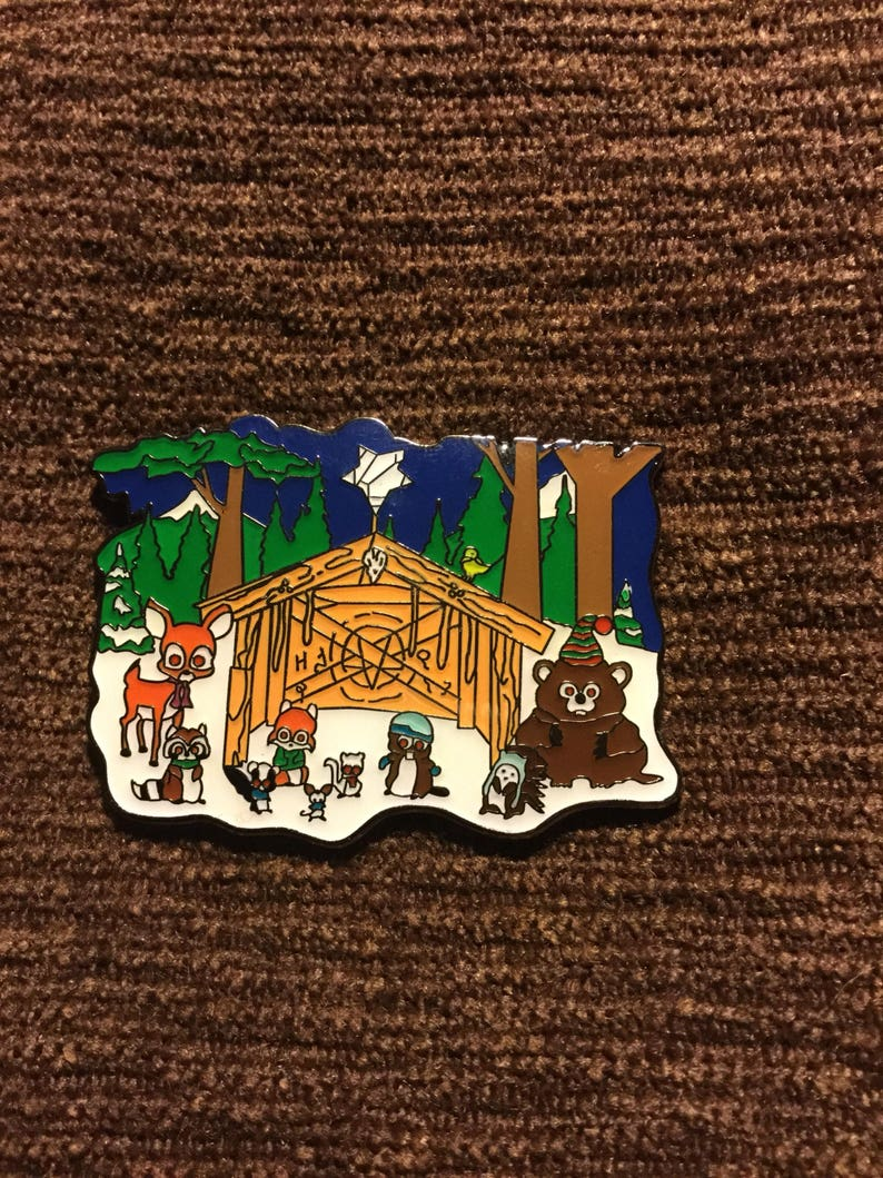South Park Woodland Critter Christmas.Woodland Critter Christmas Hat Pin