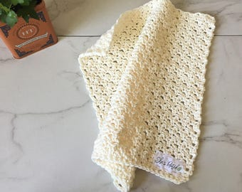 Large farmhouse hand towel
