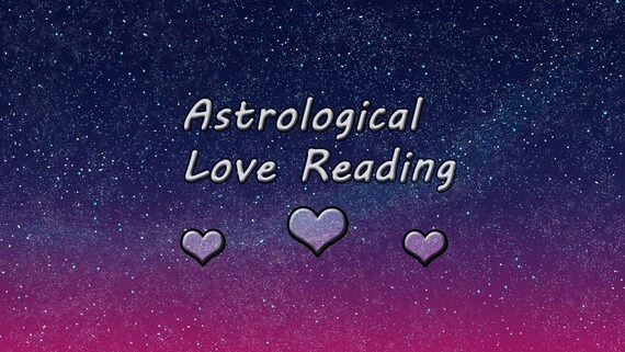 Love In The Birth Chart Astrology Reading Youtube Etsy