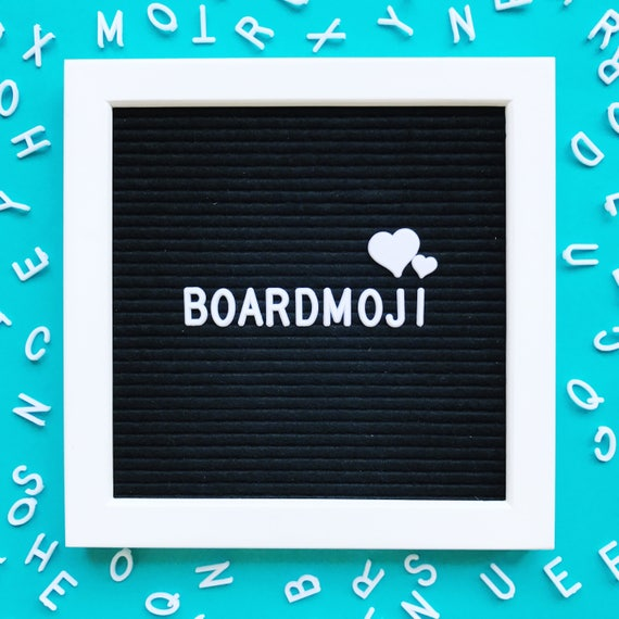 Letter Board Symbols Incl Hashtags Hearts Stars Music Etsy