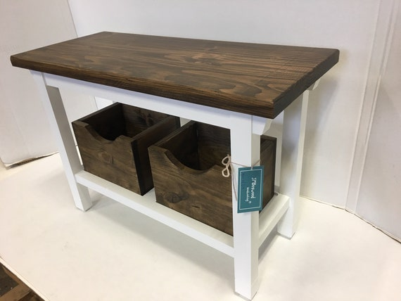 Excellent Hallway Entryway Foyer Cubbie Bench 40 Inch In Your Choice Of Color Ibusinesslaw Wood Chair Design Ideas Ibusinesslaworg