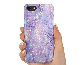 Beautiful Purple Star Tree Roots Phone Case Cover| iPhone 6 6s 7 7+ 8 8+ X | Samsung Galaxy S6, S7, S7 Edge, Note 7 | USA | Mothers Day