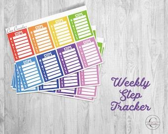 Weekly Steps Tracker