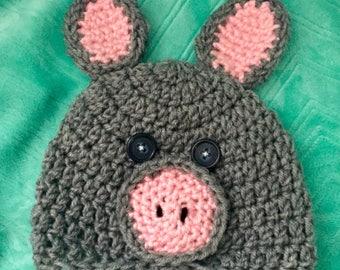 Piggy Hat for Child